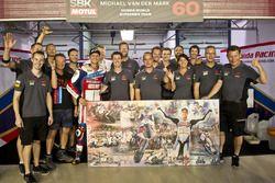 Michael van der Mark, Honda World Superbike Team with the team