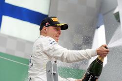 Valtteri Bottas, Williams fête sa troisième place sur le podium