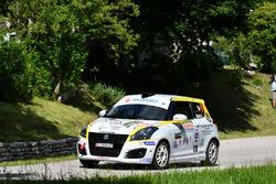 Simone Rivia, Marina Bertonasco, Suzuki Swift R R1B #91