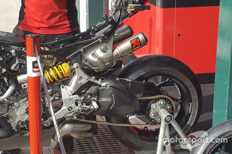 Ducati 1199 Panigale R, ciclistica aggiornata