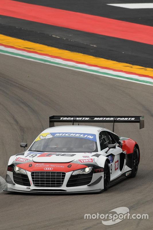 #19 Tockwith Motorsports, Audi R8 LMS: Phillip Hanson, Nigel Moore