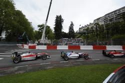 Старт - Бен Барникот, HitechGP Dallara F312 – Mercedes-Benz