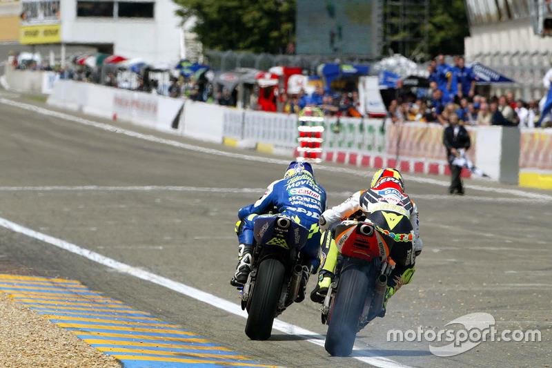 2003 : 1. Sete Gibernau, 2. Valentino Rossi