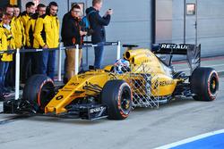 Jolyon Palmer, Renault Sport F1 Team R.S.16 avec des capteurs