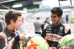 Jehan Daruvala, Josef Kaufmann Racing et Lando Norris, Josef Kaufmann Racing