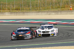 Audi R8 LMS #8, Mapelli-Albuquerque, Audi Sport Italia e BMW M6 GT3 #15 Comandini-Cerqui, BMW Team I