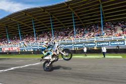 Motocross demo tijdens Gamma Racing Day