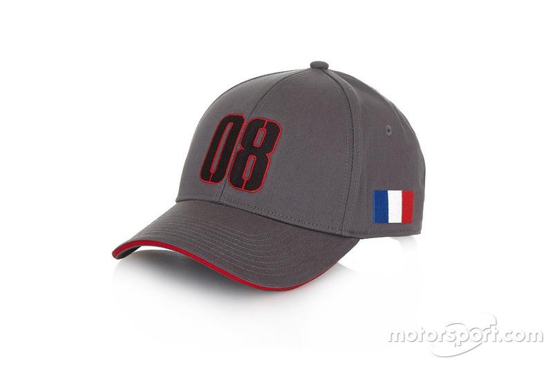 Casquette Romain Grosjean 2016