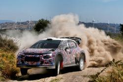 Kris Meeke, Craig Breen y Khalid Al-Qassimi, Citroën World Rally Team, Citroën C3 WRC Plus 2017