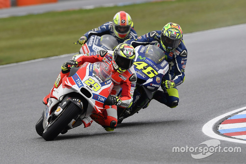 Rossi revient de loin