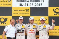 Podium : le premier Marco Wittmann, BMW Team RMG, BMW M4 DTM; 2e Tom Blomqvist, BMW Team RBM, BMW M4 DTM; 3e Bruno Spengler, BMW Team MTEK, BMW M4 DTM and Stefan Reinhold, BMW Team RMG
