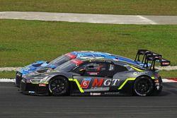 Alessio Picariello, MGT Team y Edoardo Mortara, Phoenix Racing Asia