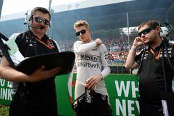 Нико Хюлькенберг, Sahara Force India F1 на стартовой решетке