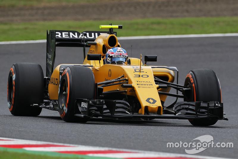 16. Jolyon Palmer, Renault Sport F1 Team RS16