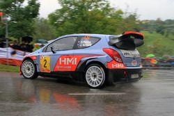 Хейден Пэддон и Джон Кеннард, Hyundai i20 WRC, Rallylegend 2016 года