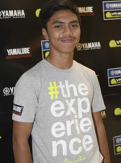 Kasma Daniel Bin Kasmayudin, participant au Yamaha VR46 Master Camp