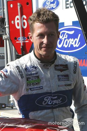 GTLM polesitter Ryan Briscoe, Ford Performance Chip Ganassi Racing