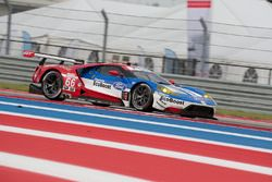 #66 Ford Performance, Chip Ganassi Racing, Ford GT: Joey Hand, Dirk Müller