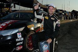 Ganadores de la pole #92 HART Honda Civic Si: Steve Eich, Cameron Lawrence