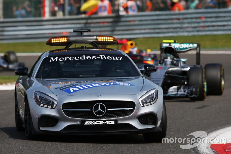 Nico Rosberg, Mercedes AMG F1 W07 Hybrid lider