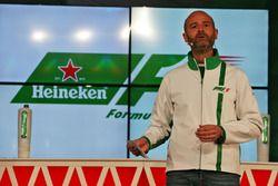 Gianluca di Tondo, Responsabile globale del marchio Heineken annuncia un accordo di sponsorizzazione