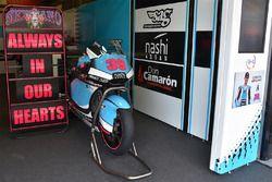 Das Motorrad von Luis Salom