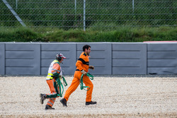 Course marshals to the rescue