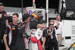 Ganador de la pole #73 MINI JCW Team MINI Cooper John Cooper Works: Derek Jones