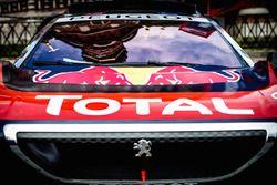 Détail de la Peugeot 2008 DKR