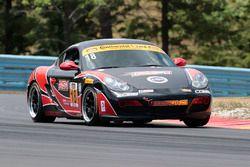 #18 RS1 Porsche Cayman: Aurora Straus, Justin Piscitell