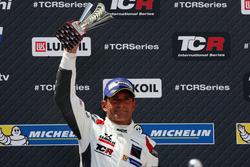 Podio: tercer lugar Gianni Morbidelli, West Coast Racing, Honda Civic TCR