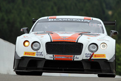 #30 Team Parker Racing Bentley Continental GT3: Derek Pierce, Chris Cooper, Chris Harris