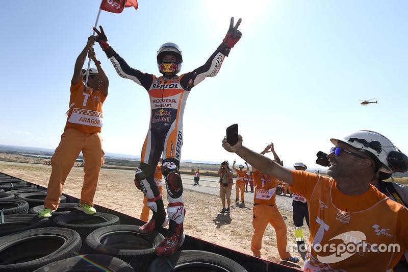 #3: Sieger Marc Marquez, Repsol Honda Team