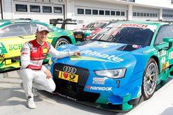 Pole position for Edoardo Mortara, Audi Sport Team Abt Sportsline, Audi RS 5 DTM