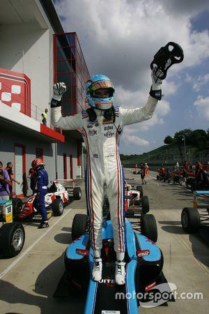 Il vincitore di Gara 1 Job Van Uitert, Jenzer Motorsport