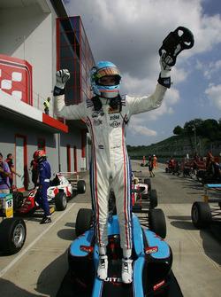 El ganador de carrera 1 Job Van Uitert, Jenzer Motorsport