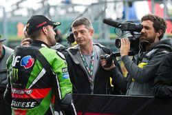 Platz 2 im Qualifying: Tom Sykes, Kawasaki Racing
