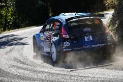 Элфин Эванс и Крейг Перри, M-Sport Ford Fiesta R5