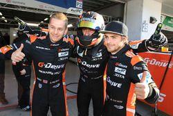 LMP2 Polesitters #26 G-Drive Racing Oreca 05 - Nissan: Roman Rusinov, Alex Brundle, Will Stevens