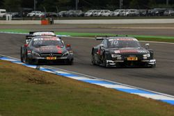 Maximilian Götz, Mercedes-AMG Team HWA, Mercedes-AMG C63 DTM; Timo Scheider, Audi Sport Team Phoenix