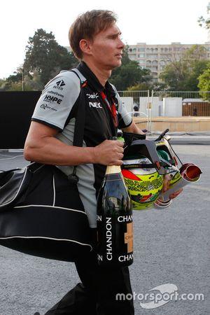 Xavi Martos, Sahara Force India F1