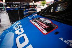 Detalle, Eric Camilli, Nicolas Klinger, M-Sport Ford Fiesta WRC