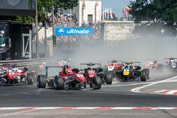 start, Lance Stroll, Prema Powerteam Dallara F312 - Mercedes-Benz