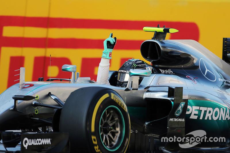 """Premier """"grand chelem"""" pour Rosberg"""