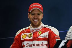 Press conference: second place Sebastian Vettel, Ferrari