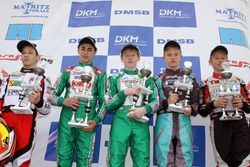 DJKM Sieger Rennen 2: Charles Milesi; David Vidales; Petr Ptacek; Christian Cobellini; Luca Maisch