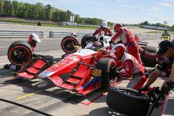 Carlos Munoz, Andretti Autosport Honda, au stand