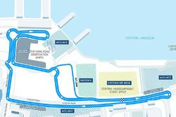Hong Kong ePrix grandstands