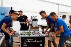 Luca Ghiotto, Trident et Philo Paz Armand, Trident avec le pilote GP3 Artur Janosz, Trident
