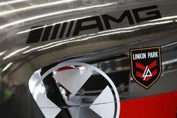 Detalle, #00 AMG-Team Black Falcon, Mercedes AMG-GT3: Yelmer Buurman, Maro Engel, Bernd Schneider
